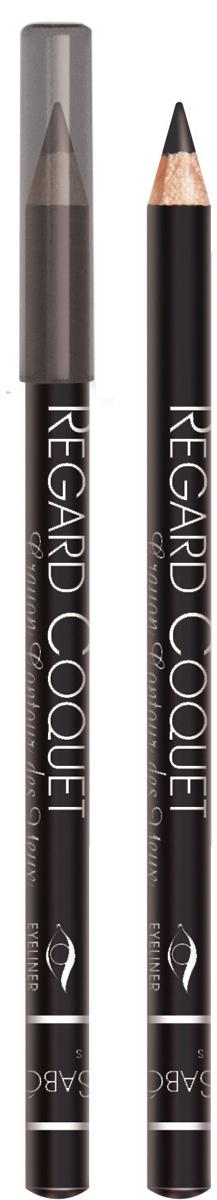 Vivienne Sabo Карандаш для глаз Regard Сoquet, тон №301, 0,9 гD215229301Карандаши для глаз - классический вариант для ежедневного макияжа. Мягкая текстура позволяет нежно очертить контур глаза. Идеальный вариант для начинающих. Линия карандаша легко корректируется и растушевывается. Им одинаково удобно делать как макияж smoky-eyes, так и кокетливые стрелки. Матовая фактура карандаша создает глубокий цвет. Изюминка карандаша Regard Coquet для вас - карандаш легко наносится, нежно скользит по веку, благодаря обогащенной восками формуле. Деревянный корпус.