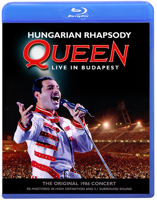Queen: Hungarian Rhapsody, Live In Budapest (Blu-ray) how i live now