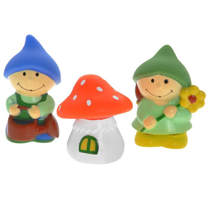 Набор игрушек для ванны Курносики Гномики