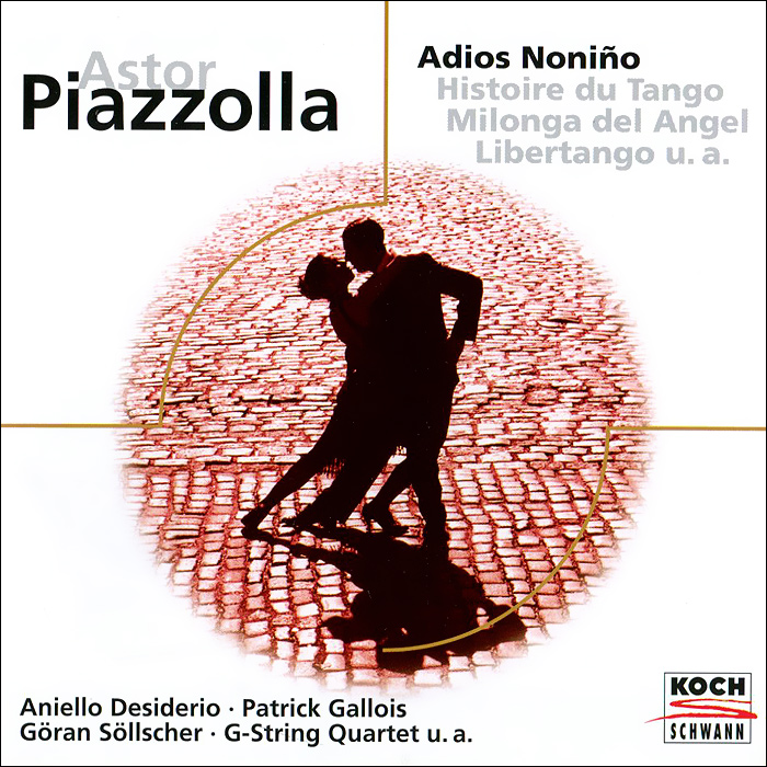 Страстные ритмы танго от аргентинского классика жанра, включая лучшие сочинения Пьяццоллы.