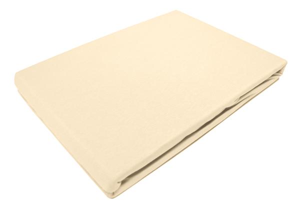 Простыня на резинке Tete-a-Tete Слоновая кость, 180 см х 200 см одеяло kazanov a luxury мulberry silk цвет слоновая кость 200 х 220 см