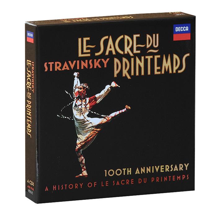 Igor Stravinsky. Le Sacre Du Printemps (4 CD)