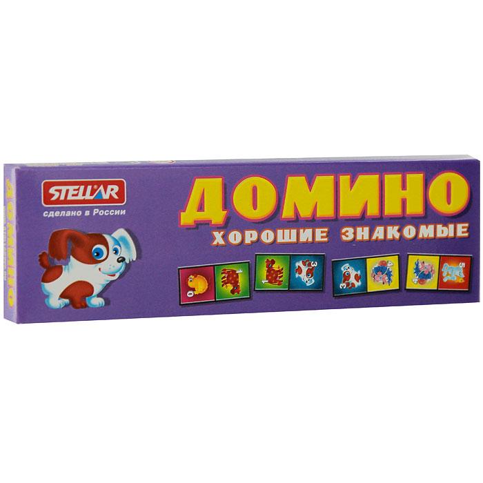 Stellar Домино Хорошие знакомые настольная игра домино стеллар хорошие знакомые 9