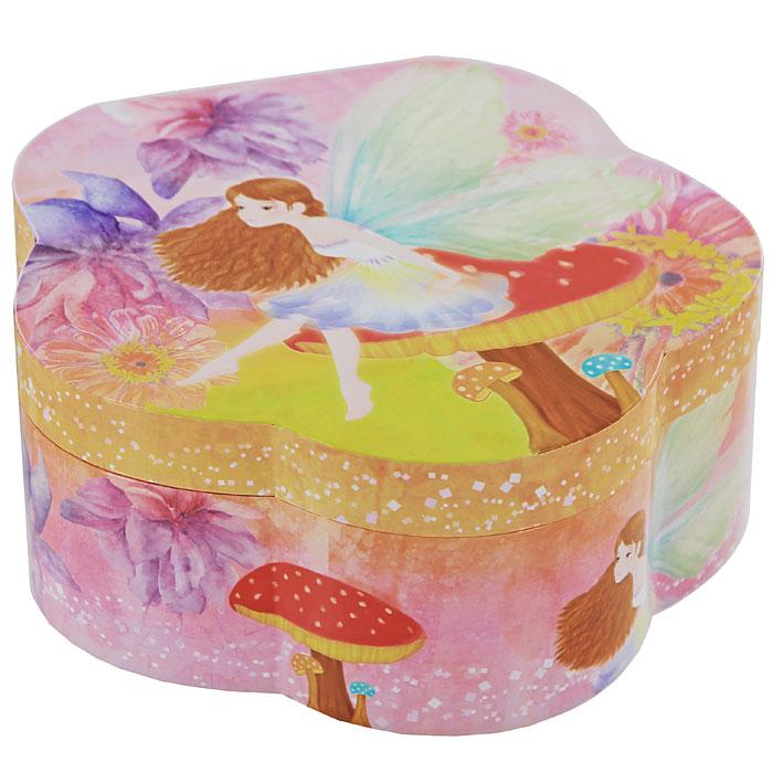 Музыкальная шкатулка Цветок шкатулка фоторамка для ювелирных украшений moretto 18 x 13 x 5 см 39867