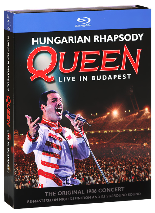 Queen: Hungarian Rhapsody, Live In Budapest (Blu-ray + 2 CD) bad company live at wembley blu ray