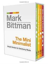 The Mini Minimalist: Simple Recipes for Satisfying Meals everyday italian 125 simple and delicious recipes