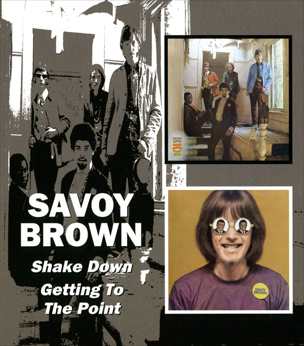 Savoy Brown Savoy Brown. Shake Down / Getting To The Point (2 CD) brown point toe suede over the knee boots