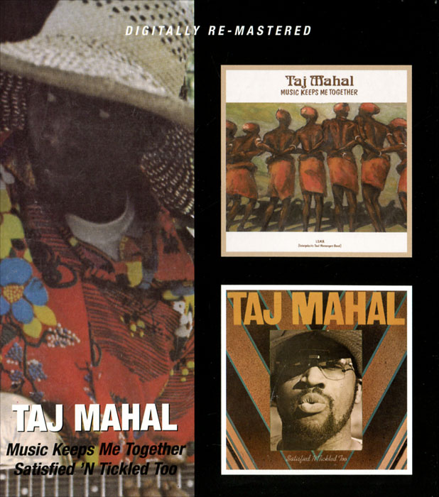 цена на Тадж Махал Taj Mahal. Music Keeps Me Together / Satisfied 'N Tickled Too (2 CD)