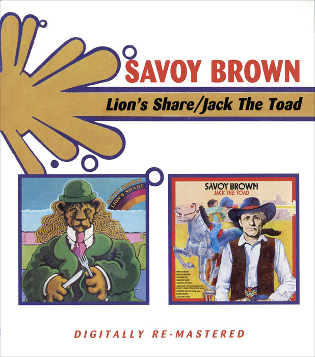 Savoy Brown Savoy Brown. Lion's Share / Jack The Toad (2 CD) new stuffed light brown squint eyes teddy bear plush 220 cm doll 86 inch toy gift wb8316