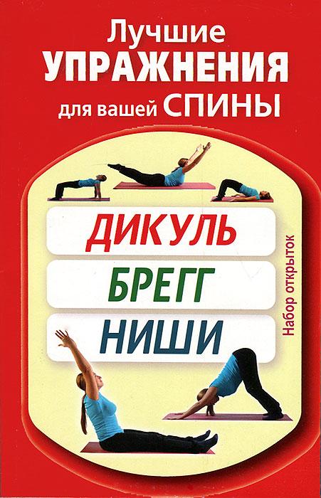 Лучшие упражнения для вашей спины. Дикуль, Брегг, Ниши (набор из 20 открыток) кацудзо ниши золотые правила здоровья