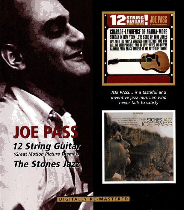 Джо Пасс Joe Pass. 12 String Guitar / Stones Jazz kmise soprano ukulele mahogany ukelele uke 21 inch 4 string hawaiian guitar 12 fret with gig bag tuner