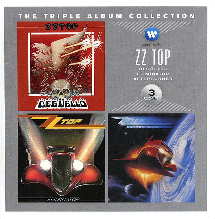ZZ Top ZZ Top. Triple Album Collection (3 CD) mo