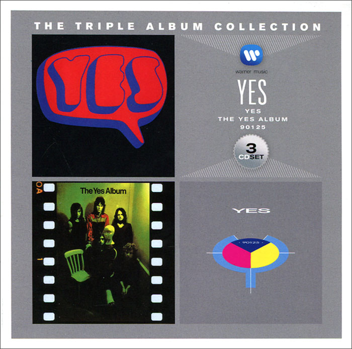 Yes. Triple Album Collection (3 CD)