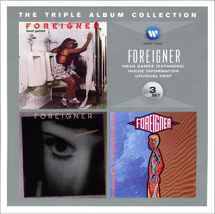 Foreigner Foreigner. The Triple Album Collection (3 CD) foreigner foreigner 4