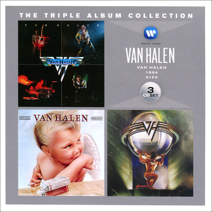 Van Halen Van Halen. Triple Album Collection (3 CD) the triple album collection vol 1 cd