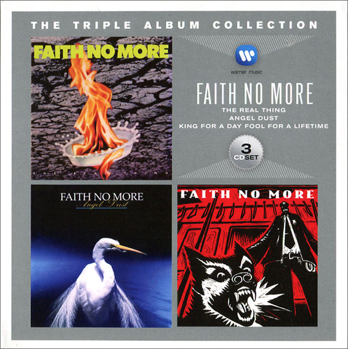 Faith No More Faith No More. Triple Album Collection (3 CD) faith no more angel dusto 2cd cd