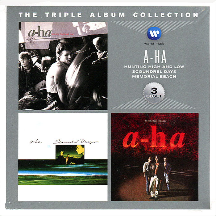 A-Ha A-Ha. Triple Album Collection (3 CD) a ha a ha stay on these roads deluxe edition 2 cd