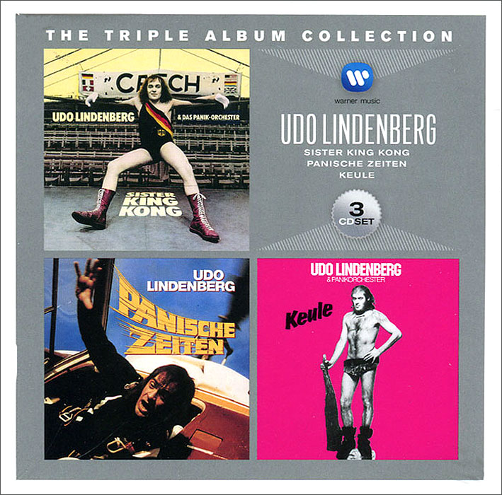 Udo Lindenberg. The Triple Album Collection (3 CD)