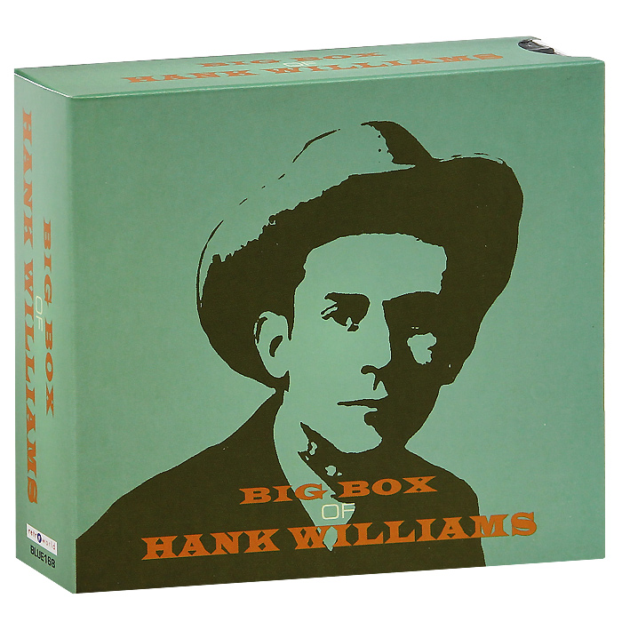 Хэнк Уильямс-старший Big Box Of Hank Williams (6 CD) tantus hank package of 3