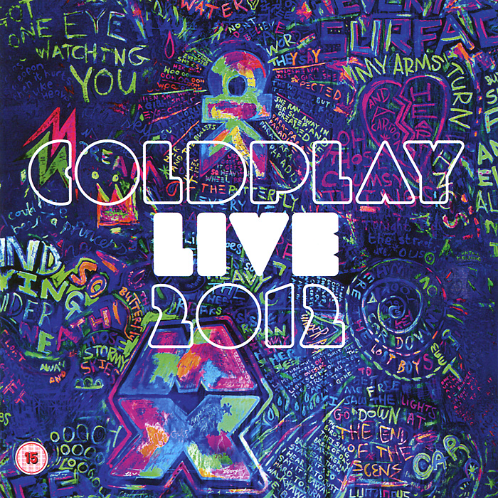 Фото - Coldplay: Live 2012 (DVD + CD) hurts hurts exile