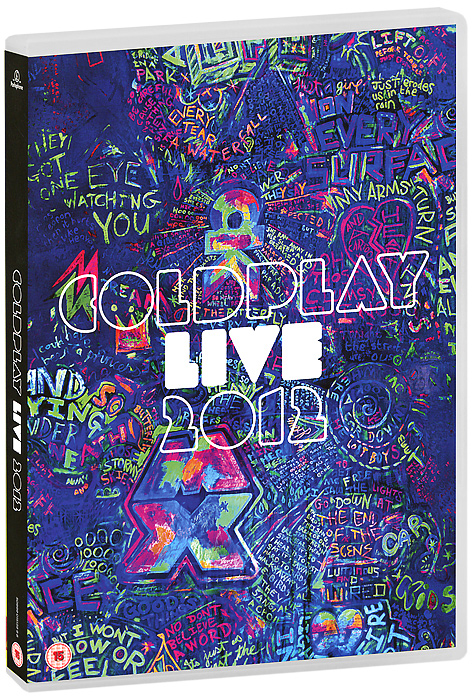 Coldplay: Live 2012 (DVD + CD) hurts hurts surrender