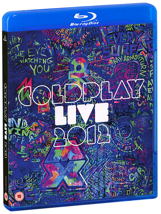 Coldplay: Live 2012 (Blu-ray + CD) francis rossi live from st luke s london blu ray