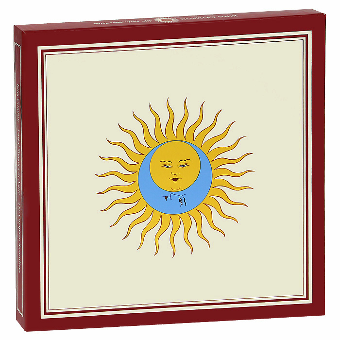 King Crimson King Crimson. Lark's Tongues In Aspic (13 CD + DVD + Blu-Ray) kiss new york professional палетка хайлайтеров для стробинга halo strobing medium 3 х 5 27 г