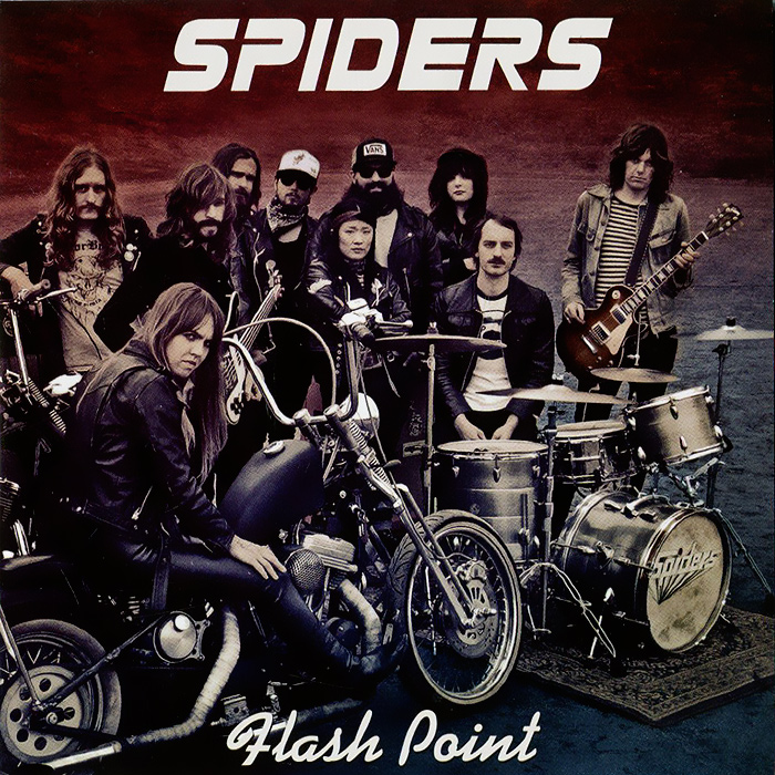 The Spiders Spiders. Flash Point the spiders from arts толстовка