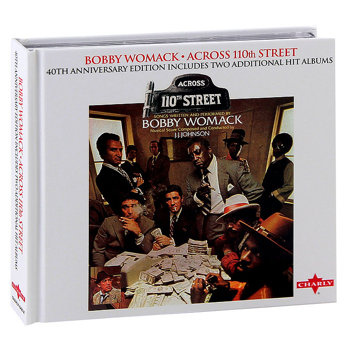 Бобби Уомак Bobby Womack. Across 110th Street. 40th Anniversary Edition (2 CD) selena limited edition picture disc cd rare collectible music display