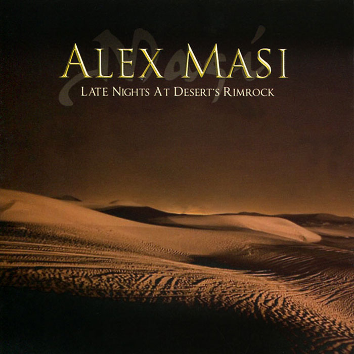 Alex Masi. Late Night At Desert Rimrock
