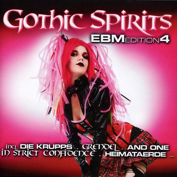 Gothic Spirits Ebm Edition 4 (2 CD) gothic compilation 64 2 cd