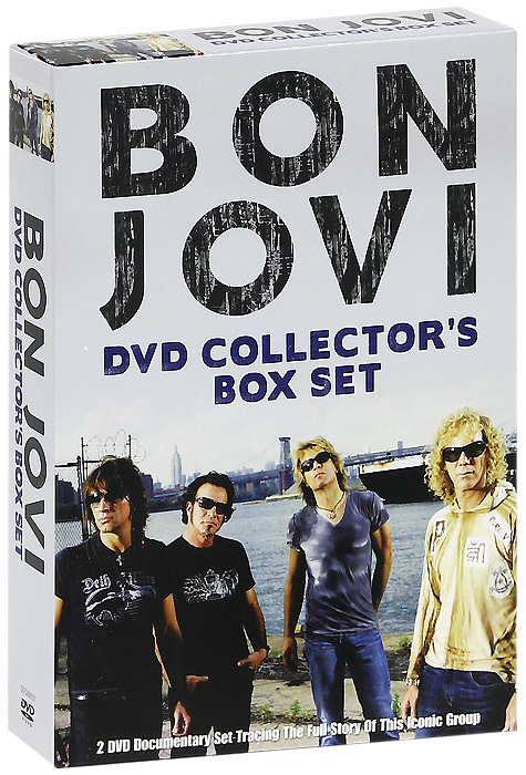 Bon Jovi: Collector's Box Set (2 DVD) bon jovi in their own words
