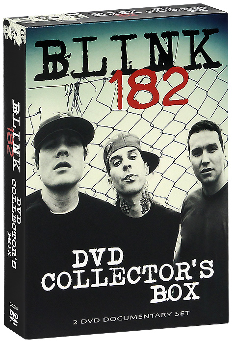 Blink 182: Collector's Box (2 DVD) вверх dvd box