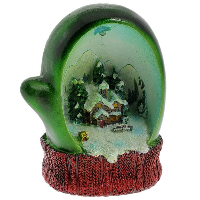 Новогоднее украшение Варежка, с подсветкой. Ф21-2216Ф21-2216Новогоднее украшение Варежка отлично подойдет для декорации вашего дома и новогодней ели. Украшение изготовлено из полирезины и выполнено в виде варежки, оформленной новогодней композицией. Варежка оснащена подсветкой, меняющей цвета. Оригинальный дизайн и красочное исполнение создадут праздничное настроение. Характеристики: Материал:полирезина. Размер украшения:10 см х 7,5 см х 12,5 см. Размер упаковки:14,5 см х 12 см х 17 см. Изготовитель:Китай. Артикул:Ф21-2216.