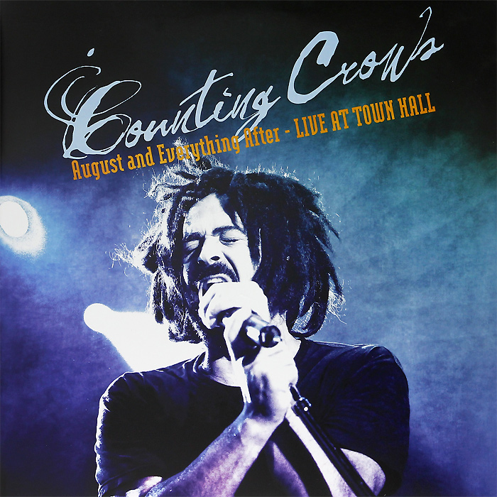 Counting Crows Counting Crows. August And Everything After. Live From Town Hall (2 LP) black crows anima 194