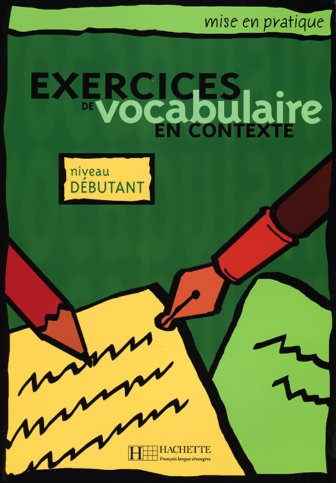 Exercices de vocabulaire en contexte: Niveau debutant en index html