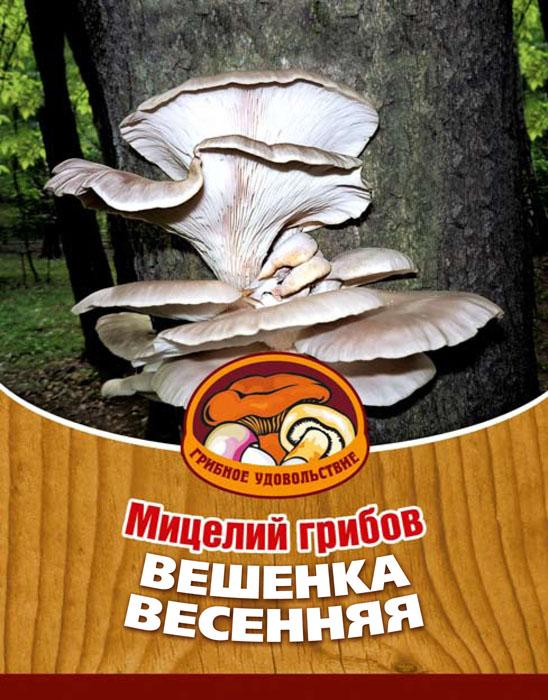 """Мицелий грибов """"Вешенка весенняя"""", на 16 древесных палочках"""