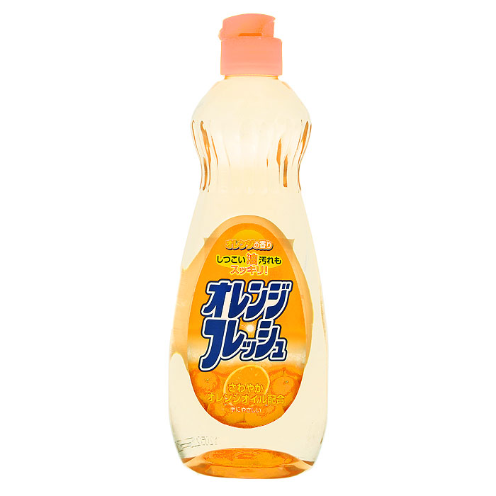 Средство для мытья посуды Orange Oil Fresh с апельсиновым маслом, 600 мл301437Средство для мытья посуды Orange Oil Freshсодержит апельсиновое масло, очень мягко воздействует на кожу рук, не раздражая ее. Превосходно удаляет жирные загрязнения. Справляется с жиром даже в холодной воде. Подходит для мытья овощей и фруктов.Характеристики: Объем: 600 мл. Производитель: Япония. Товар сертифицирован.Как выбрать качественную бытовую химию, безопасную для природы и людей. Статья OZON Гид