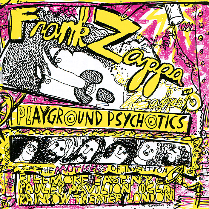 Фрэнк Заппа Frank Zappa. Playground Psychotics (2 CD) все цены