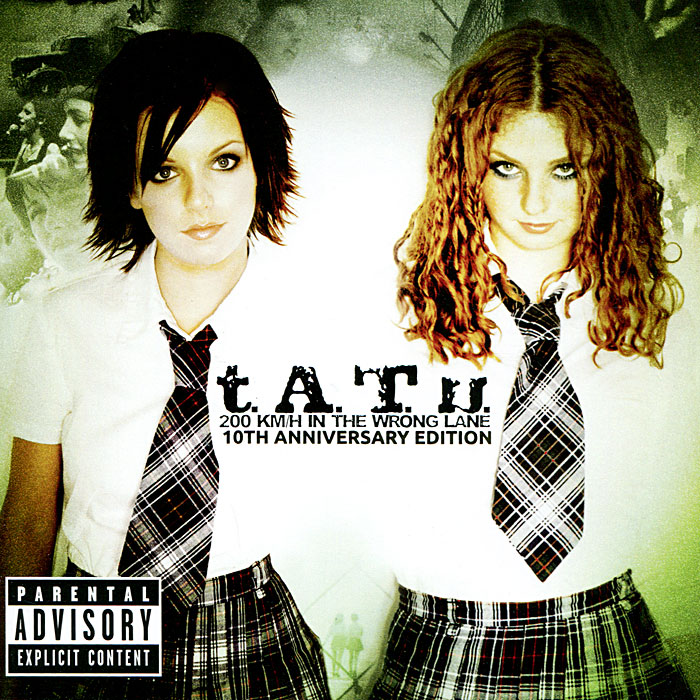 t.A.T.u. t.A.T.u. 200 Km/h In The Wrong Lane. 10th Anniversary Edition (CD) road trip usa eighth edition cross country adventures on america s two lane highways