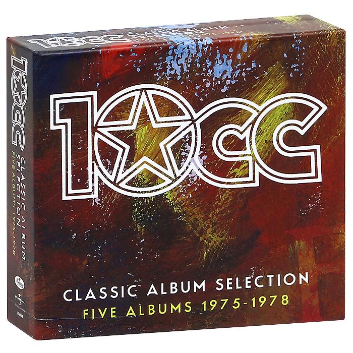 10 CC 10 CC. Classic Album Selection. Five Albums 1975-1978 (6 CD) sun records 9 classic albums 4 cd