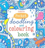 Pocket Doodling and Colouring Book: Blue Book pocket doodling and colouring book blue book
