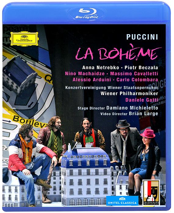 Puccini, Daniele Gatti: La Boheme (Blu-ray) anna netrebko live from the salzburg festival 3 blu ray
