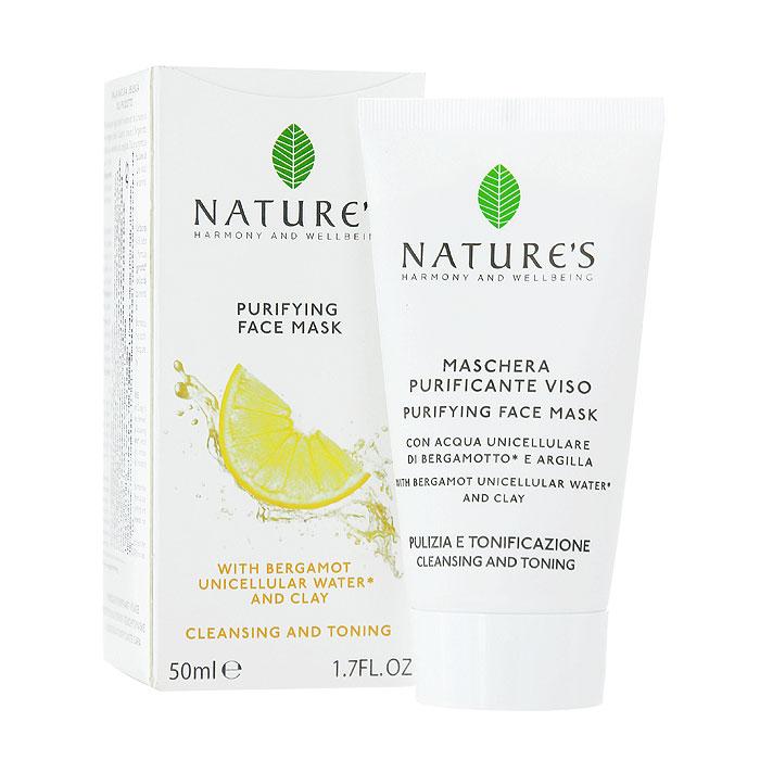 Natures Очищающая маска для лица, 50 мл60200105Очищающая маска для лица Natures удаляет загрязнения и излишки жира, сужает поры, не сушит кожу. Ваша кожа будет выглядеть свежей и обновленной, гладкой, однородной, матовой, без жирного блеска. Основной активный ингредиент:Однокомпонентная органическая вода из Бергамота - очищает, освежает, улучшает тонус, содержит АНА (альфа гидроксильные кислоты), улучшающие клеточный обмен. Разновидностей этого растения существует немало, но наиболее ценные сорта выращивают в заповедных природоохранных рощах, расположенных между побережьем и горами Калабрии. Бергамотовую Воду получают путем холодного отжима свежих плодов, сохраняя жизненно важные клетки растения, микроэлементы, витамины и эфирные масла. Специальные активные ингредиенты в продукте:Белая глина - поглощает загрязнения и излишки жира.Миндальная кислота из Горького Миндаля - отшелушивает, способствует обновлению клеток и разглаживает кожу.Витамин Е - антиоксидантное действие.Масла Оливы и Жожоба - смягчают и питают. Характеристики:Объем: 50 мл. Производитель: Италия. Артикул:60200105. Товар сертифицирован.
