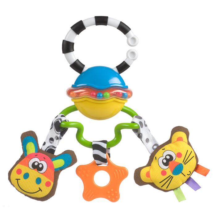 Музыкальная игрушка-подвеска Playgro Сафари игрушки подвески playgro игрушка подвеска пчелка