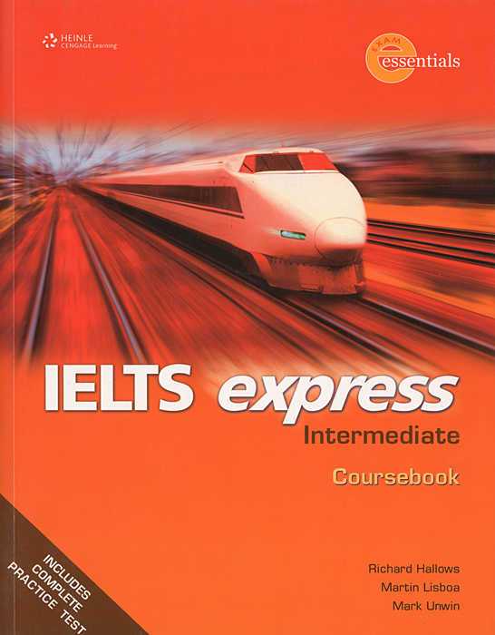 IELTS Express: Intermediate: Coursebook my counting sticker activity book