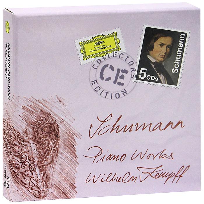 Wilhelm Kempff. Schumann. Piano Works (5 CD)