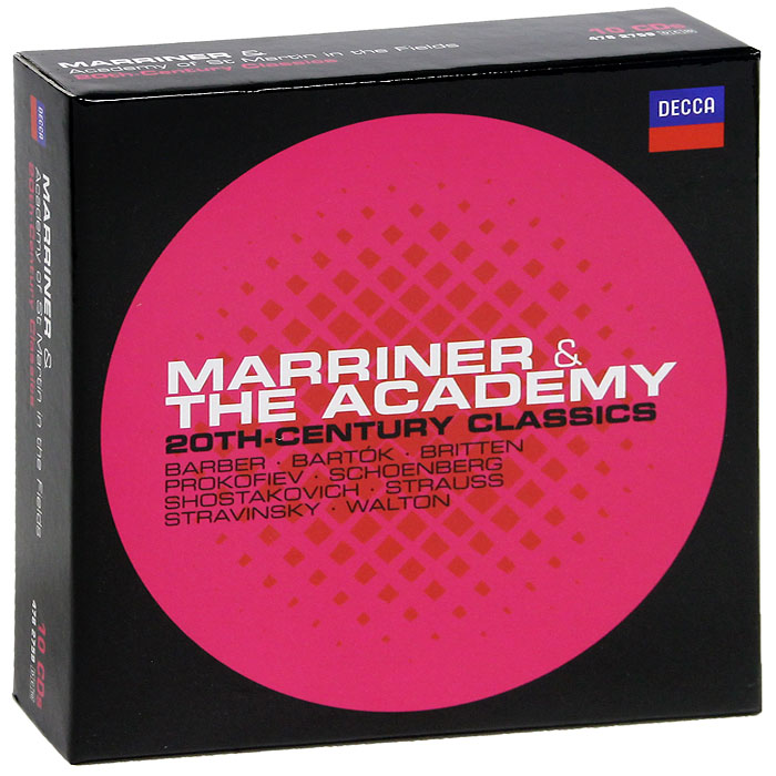 Нэвилл Мерринер,Academy Of St. Martin In The Fields Sir Neville Marriner & Academy Of St. Martin In The Fields. 20th-Century Classics (10 CD) sir neville marriner faure requiem