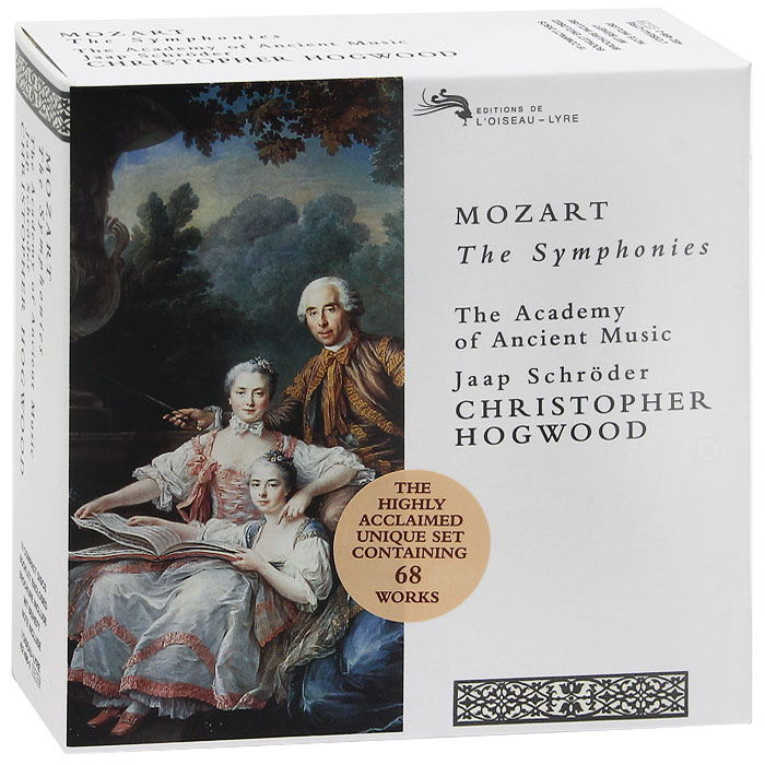 The Academy Of Ancient Music,Джаап Шредер,Кристофер Хогвуд Mozart. The Symphonies (19 CD) mozart s music of friends