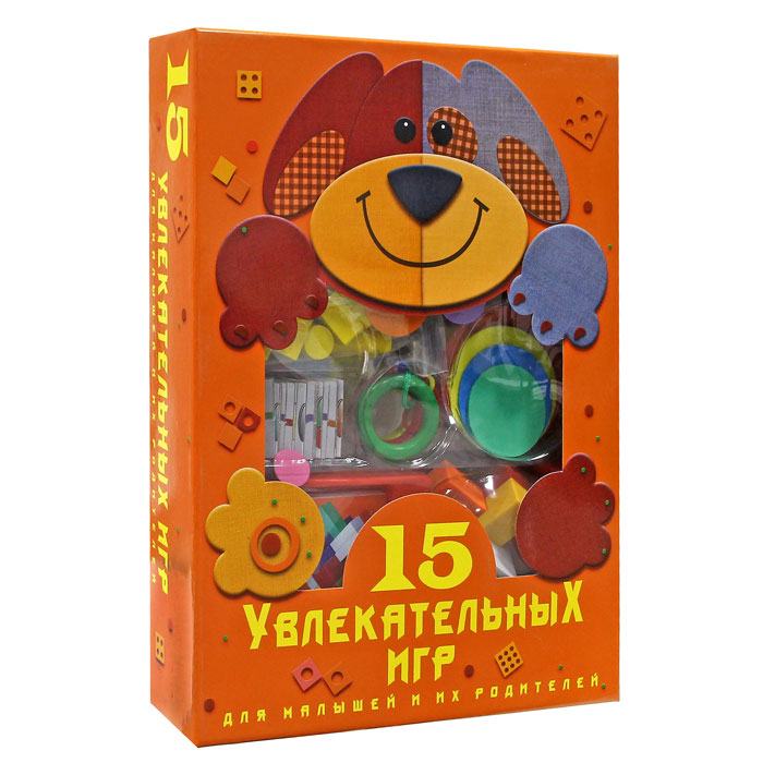 Новый формат Обучающая игра 15 в 1  - купить со скидкой
